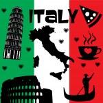 Italy Rome — Stock Vector #49129833
