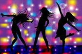 ダンサー — ストックベクタ