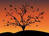 Птицы — Stock Vector