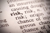 Risk Definition — Stock Photo