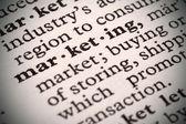 Marketing Defined — Stock Photo