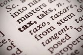 Tax Defined — Stock Photo