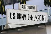 Berlin: Checkpoint Charlie  — Stock Photo