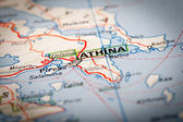 Athina City — Stock Photo