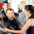 Personal trainers giving instruction — Stock Photo #41838707