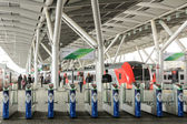 Lastochka train at Olympic Park Station in Sochi — Stock Photo
