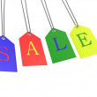 Stock Photo: SALE TAG