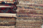 Turkish carpets en kelims  — Stock Photo