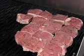 Raw Rump steak — Stock Photo