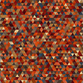 Colored triangle seamless pattern background — Stock Photo