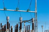A small high-voltage distribution plant — ストック写真