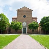 The monumental graveyard of Ferrara city — Stock Photo