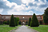 The monumental graveyard of Ferrara city — ストック写真