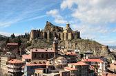 Цитадель Нарикала и Абанотубани, Старый Тбилиси — Стоковое фото