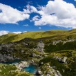 Abudelauri lakes - Blue lake, Khevsureti region — Stock Photo