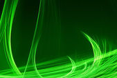 Abstract green waves — Stock Photo