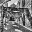 San Jose Mission in San Antonio, TX. — Stock Photo