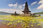 Ulun lago de danu beratan templo en bali, indonesia. — Foto de Stock