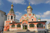 Cathedral of Our Lady of Kazan, Russian Orthodox church in Moscow, Russia. — Stock Photo