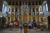 Russia, Moscow, Church of Saint Nicholas in Khamovniki, late 17th century parish church of a former weavers sloboda in Khamovniki District of Moscow. — Stock Photo