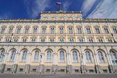 O palácio do grande kremlin, a residência do presidente da rússia — Foto Stock