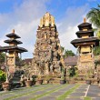 Gorgeus Pura Saraswati temple at the lovey village of Ubud. Bali, Indonesia — Stock Photo #43851629