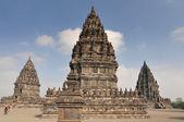Hindu templo prambanan. indonésia, java, yogyakarta — Foto Stock
