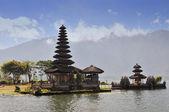 Ulun Danu temple Beratan Lake in Bali Indonesia — Stock Photo