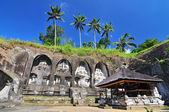 Caves in Gunung Kawi Temple in Ubud, Bali Indonesia — Stock Photo