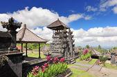 Besakih complex Pura Penataran Agung , hindu temple of Bali, Indonesia — Stock Photo