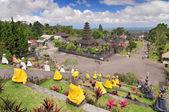 Besakih 复杂普拉 penataran 阿贡,印度教寺庙巴厘岛印度尼西亚 — 图库照片