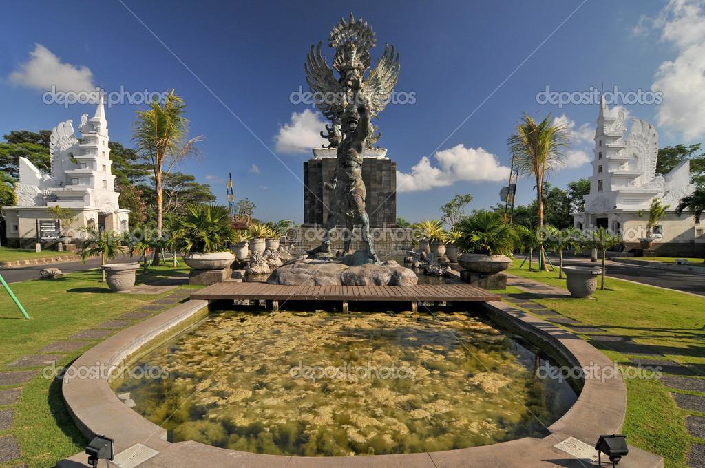 神鹰广场,印度尼西亚巴厘岛– 图库图片