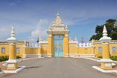 Pałac królewski w cambodias kapitału phnom penh — Zdjęcie stockowe