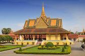 Phochani 亭、 皇家宫殿建筑群,金边,柬埔寨 — 图库照片