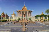 Model of Angkor Wat  in the royal palace in Cambodias capital Phnom Penh — Stock Photo