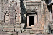 Carved structures in Preah Khan in Angkor near Siem Reap, Cambodia. — Stock Photo