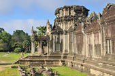 Front Doorway of Angkor Wat Temple, Cambodia — Stock Photo