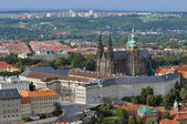 View of the Cathedral of St. Vitus, Prague. — Stock Photo