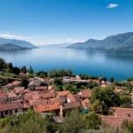 Lake Maggiore, Maccagno — Stock Photo