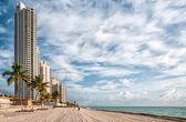 Sunny Isles beach, Florida — Stock Photo