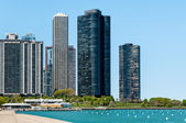Harbor Point Condominiums, Chicago — Stock Photo
