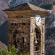 Old bell tower of Biegno — Stock Photo