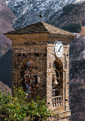 Old bell tower of Biegno — Stockfoto