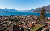 Vista do lago maggiore — Foto Stock
