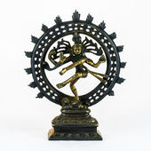 Shiva Dancing Nataraja — Stock Photo