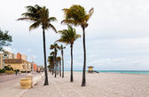 Hollywood beach, Florida — Stock Photo