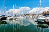 The small harbor of Punta Ala — Foto Stock