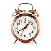 Analog Twin Bell Alarm Clock — Stock Photo