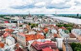 Panoramic view of Riga, Latvia. — Stock Photo