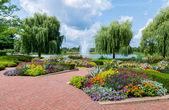 Jardín botánico de chicago — Foto de Stock